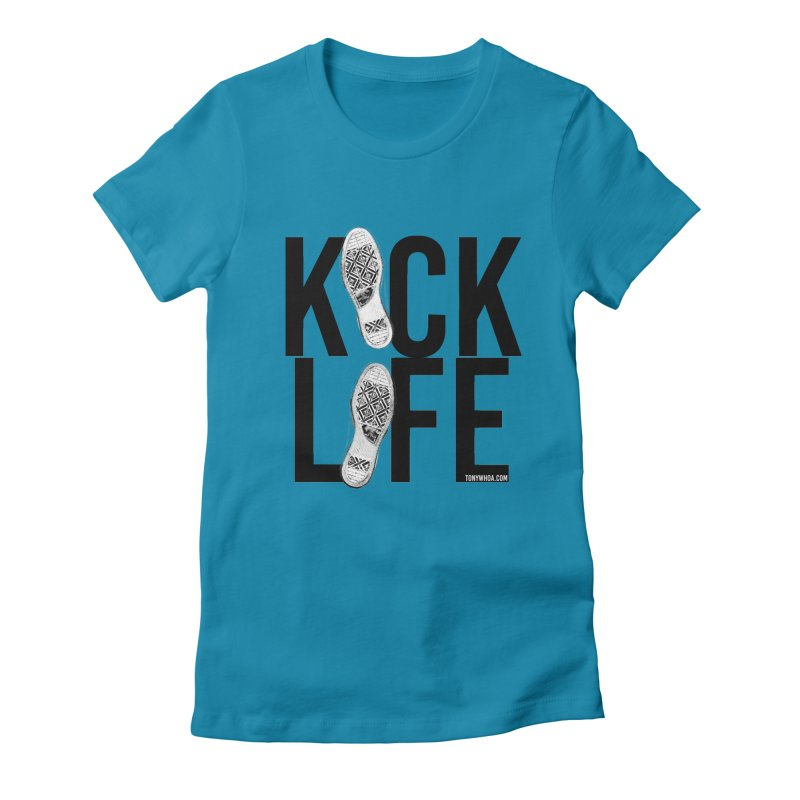 Kick Life Women's Fitted T-Shirt by TonyWHOA!