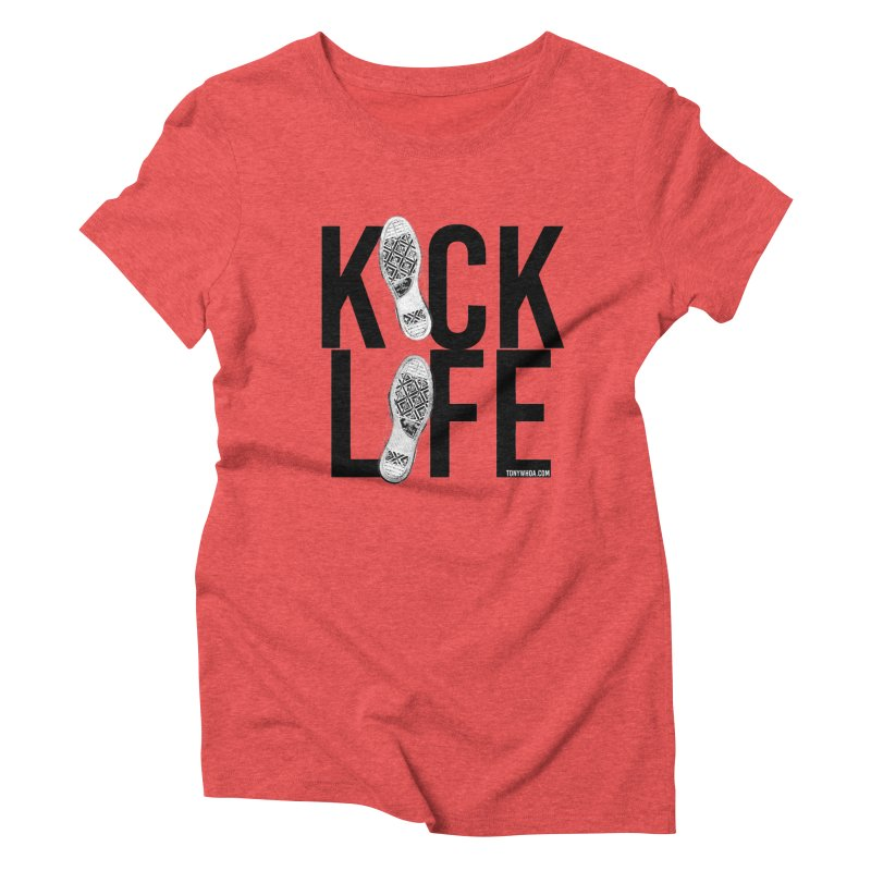 Kick Life Women's Triblend T-Shirt by TonyWHOA! Artist Shop