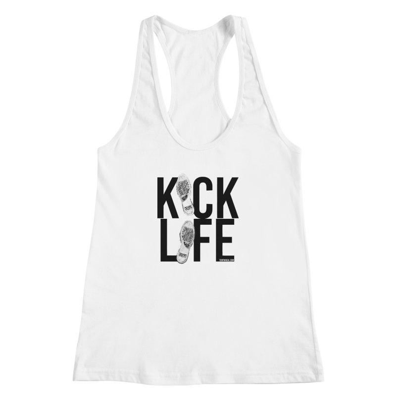 Kick Life Women's Racerback Tank by TonyWHOA! Artist Shop