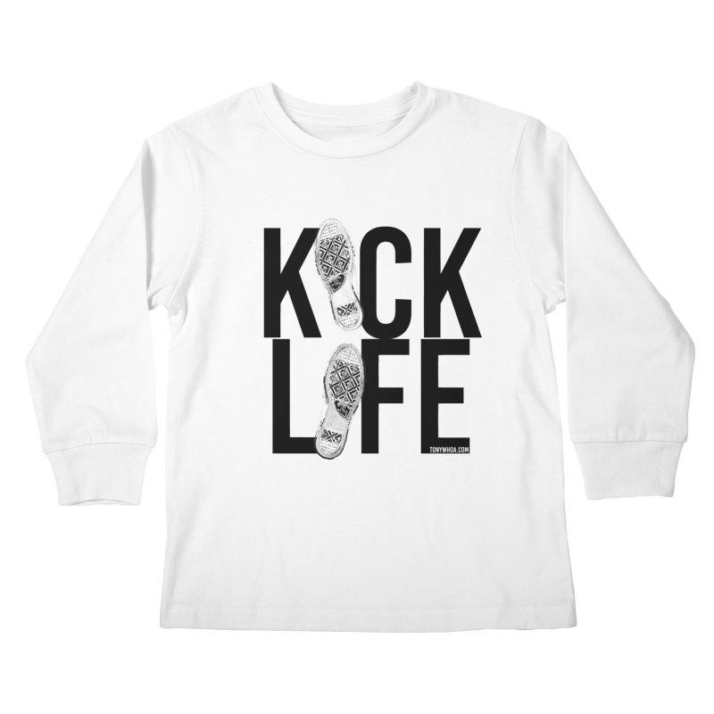 Kick Life Kids Longsleeve T-Shirt by TonyWHOA! Artist Shop