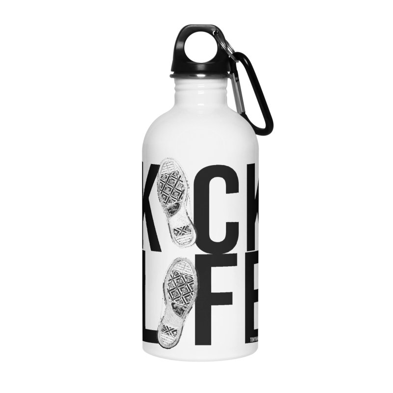 Kick Life Accessories Water Bottle by TonyWHOA! Artist Shop