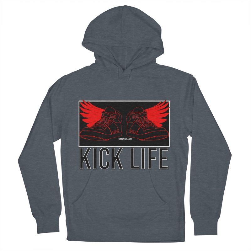 Kick Life Duces Women's French Terry Pullover Hoody by TonyWHOA!