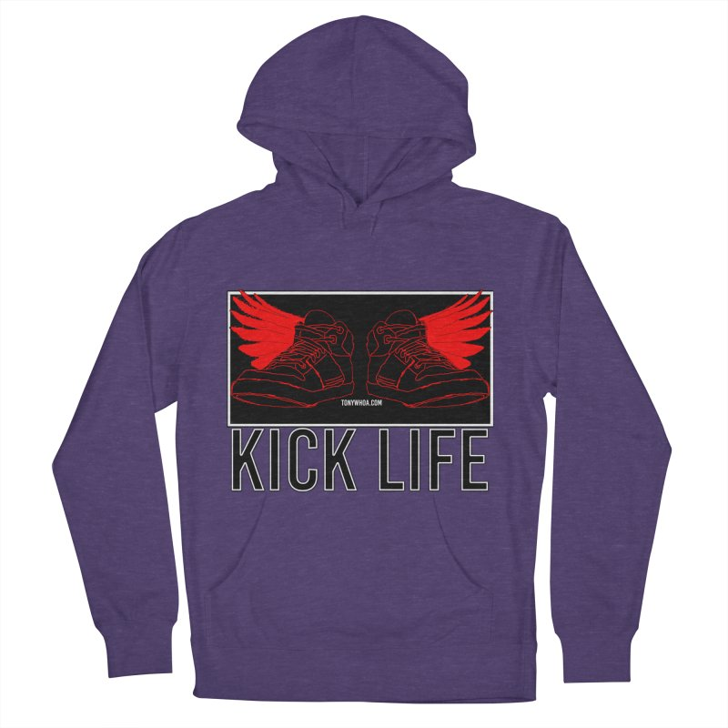 Kick Life Duces Men's French Terry Pullover Hoody by TonyWHOA!
