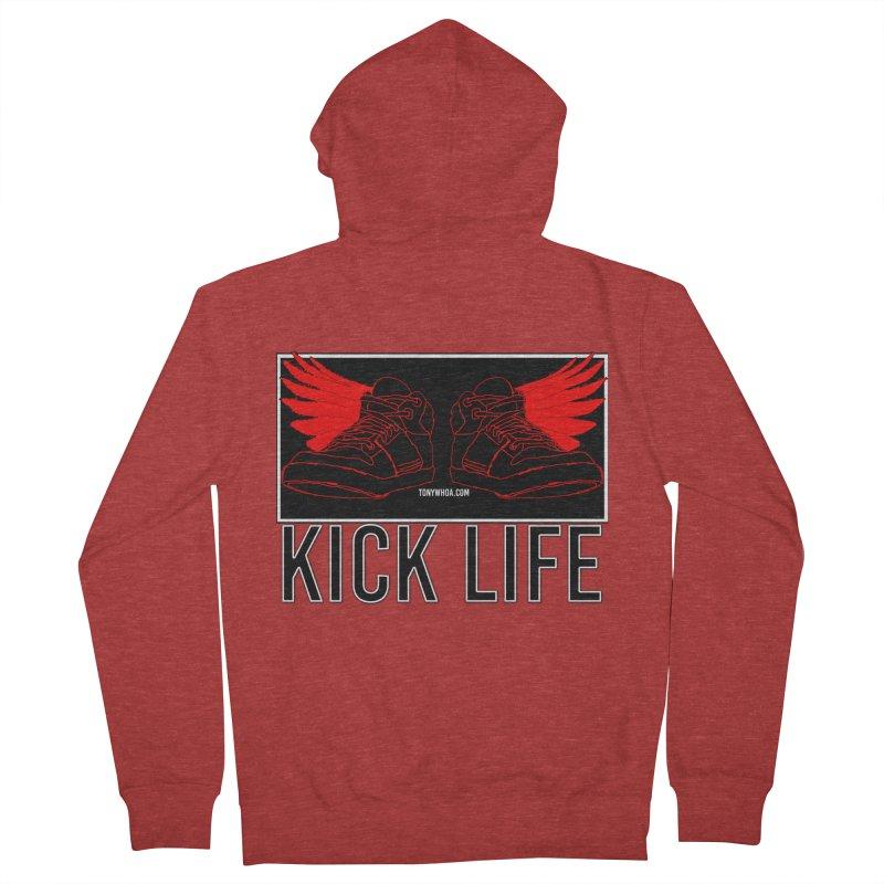 Kick Life Duces Men's French Terry Zip-Up Hoody by TonyWHOA!