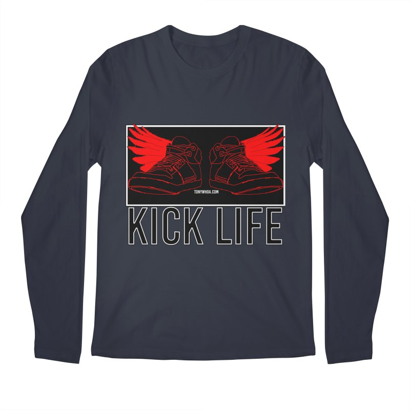 Kick Life Duces Men's Regular Longsleeve T-Shirt by TonyWHOA!