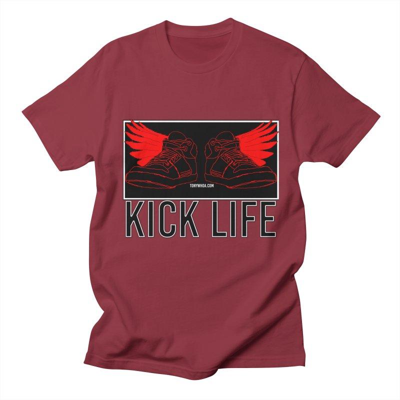 Kick Life Duces Men's Regular T-Shirt by TonyWHOA!