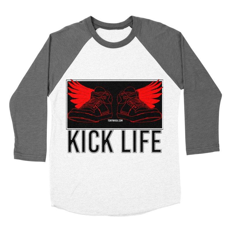 Kick Life Duces Women's Baseball Triblend Longsleeve T-Shirt by TonyWHOA!