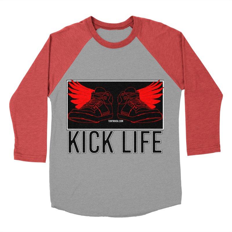 Kick Life Duces Men's Baseball Triblend Longsleeve T-Shirt by TonyWHOA!