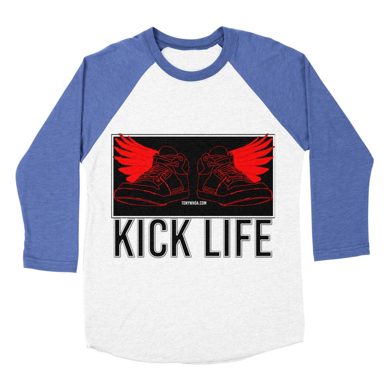 Kick Life Duces Men's Baseball Triblend Longsleeve T-Shirt by TonyWHOA!