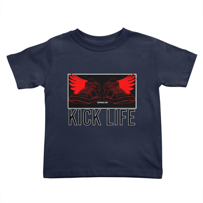 Kick Life Duces Kids Toddler T-Shirt by TonyWHOA!