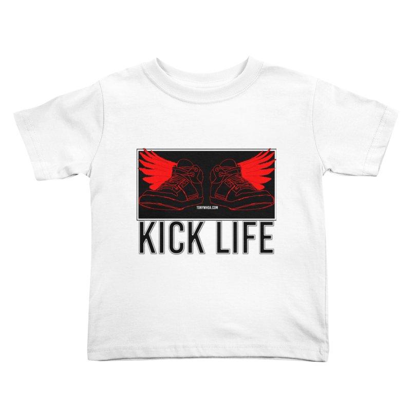 Kick Life Duces Kids Toddler T-Shirt by TonyWHOA!