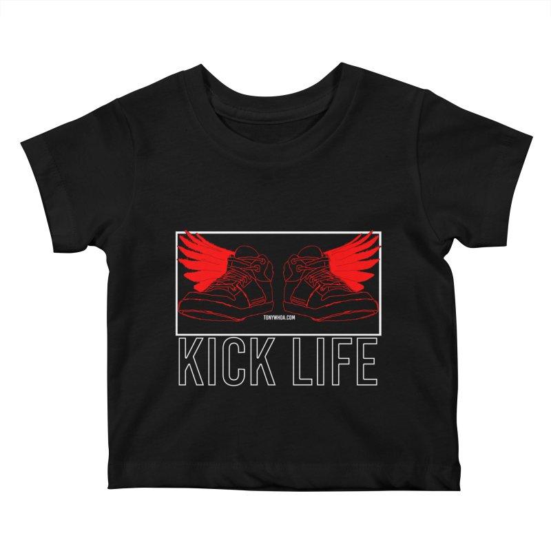 Kick Life Duces Kids Baby T-Shirt by TonyWHOA!