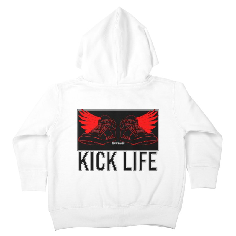 Kick Life Duces Kids Toddler Zip-Up Hoody by TonyWHOA!