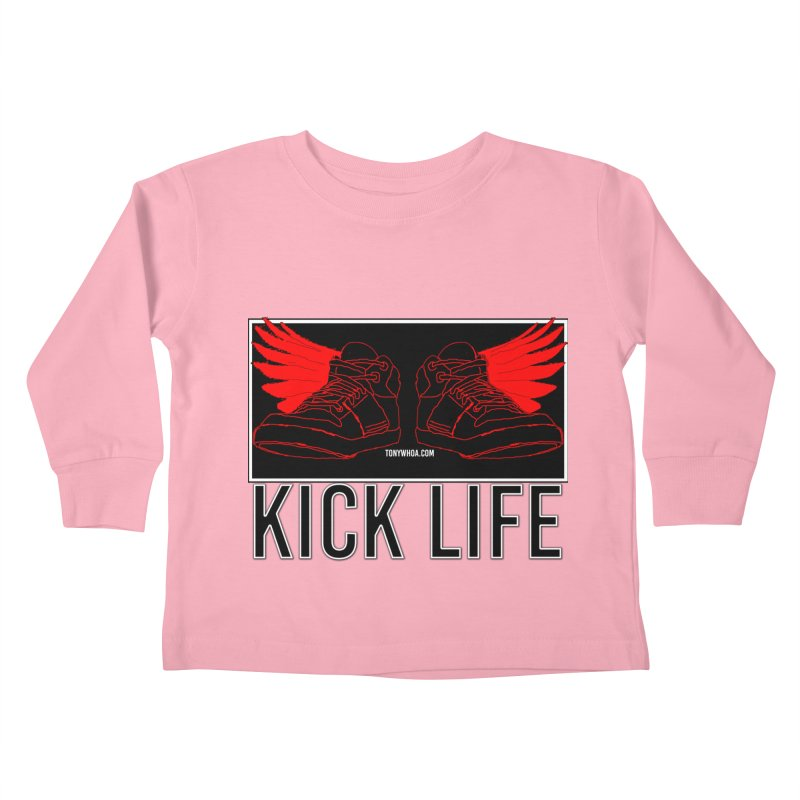 Kick Life Duces Kids Toddler Longsleeve T-Shirt by TonyWHOA!