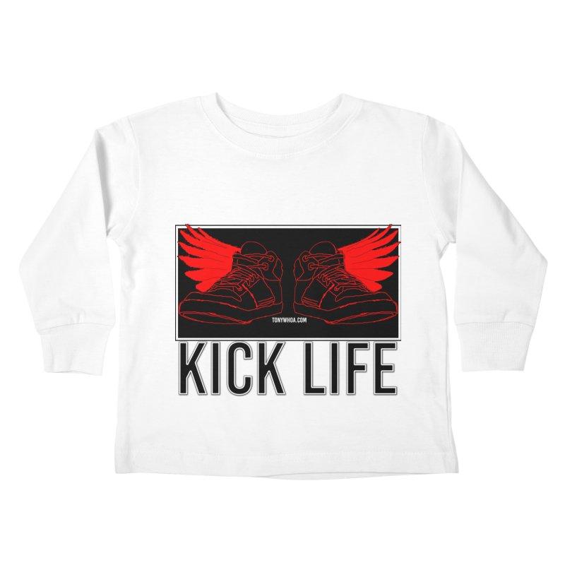 Kick Life Duces Kids Toddler Longsleeve T-Shirt by TonyWHOA!