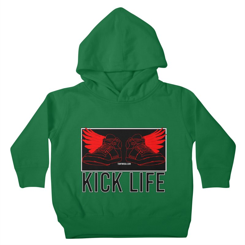 Kick Life Duces Kids Toddler Pullover Hoody by TonyWHOA!