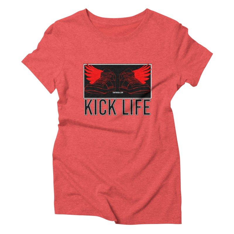 Kick Life Duces Women's Triblend T-Shirt by TonyWHOA!