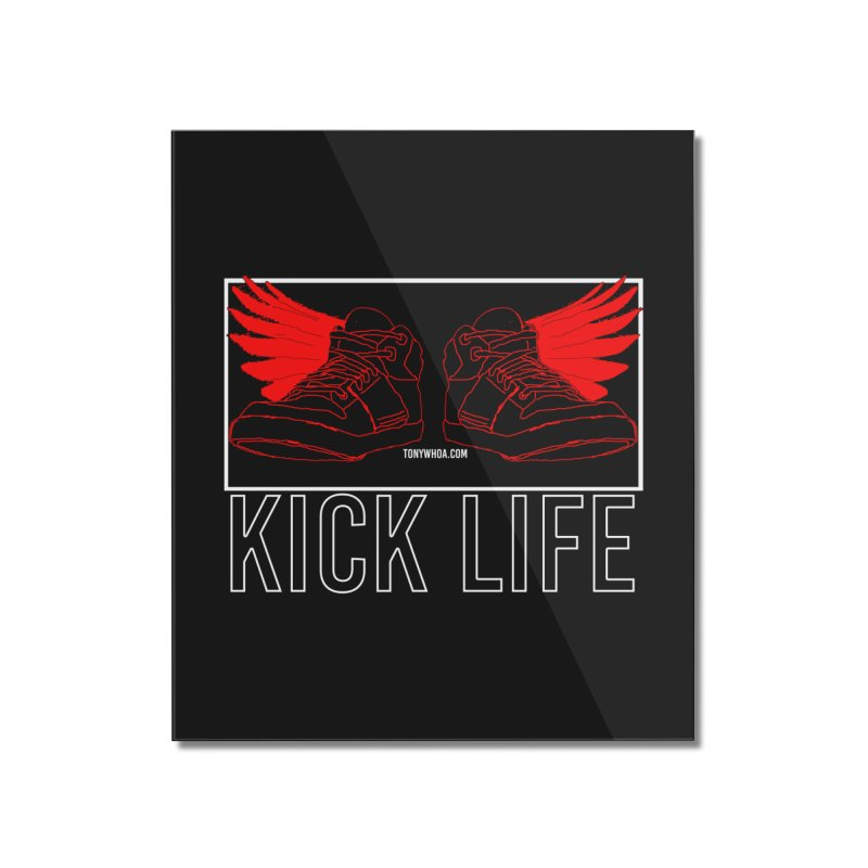 Kick Life Duces Home Mounted Acrylic Print by TonyWHOA!