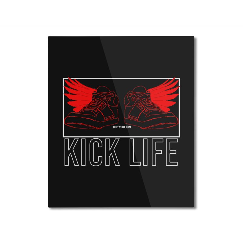 Kick Life Duces Home Mounted Aluminum Print by TonyWHOA!