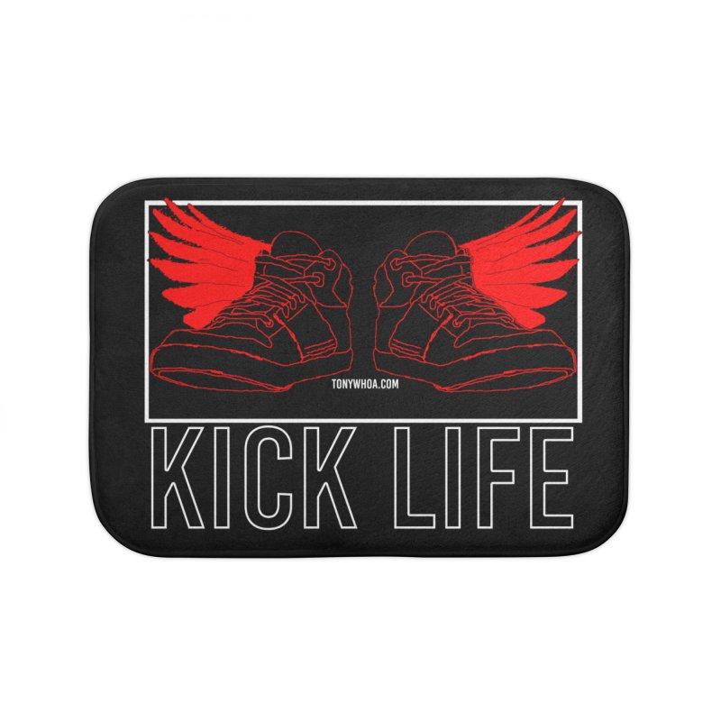 Kick Life Duces Home Bath Mat by TonyWHOA!