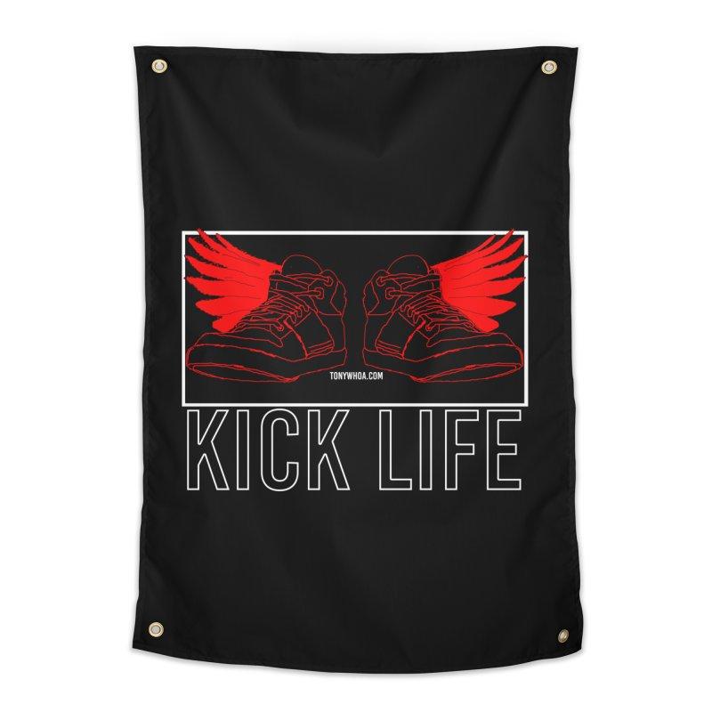 Kick Life Duces Home Tapestry by TonyWHOA!