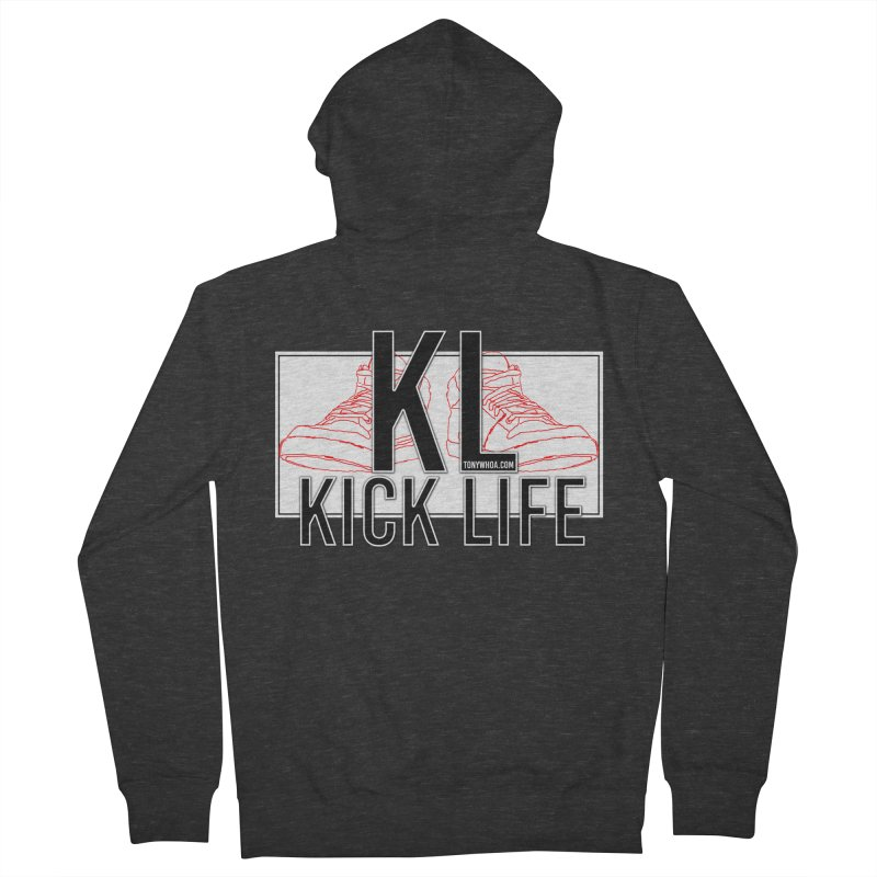Kick Life Duces Women's Zip-Up Hoody by TonyWHOA! Artist Shop