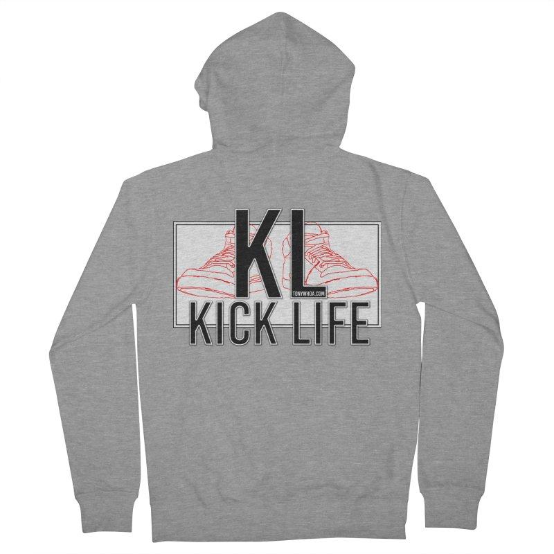 Kick Life Duces Men's Zip-Up Hoody by TonyWHOA! Artist Shop
