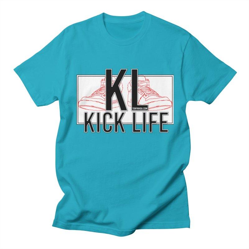 Kick Life Duces Men's T-shirt by TonyWHOA! Artist Shop