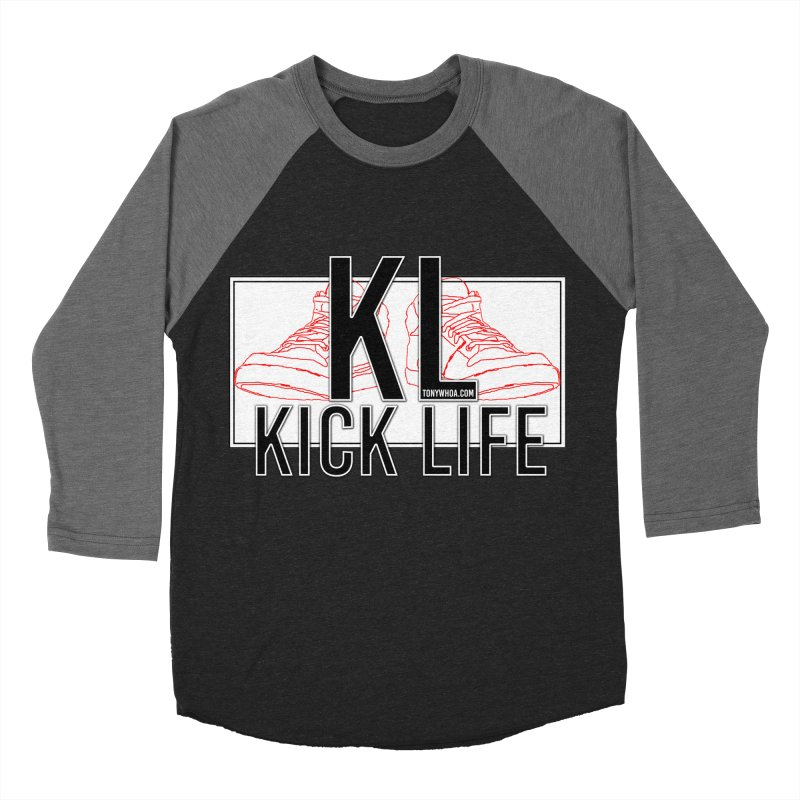 Kick Life Duces Men's Baseball Triblend T-Shirt by TonyWHOA! Artist Shop