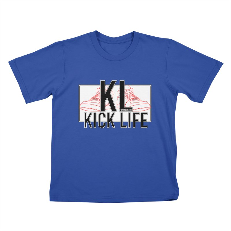 Kick Life Duces Kids T-shirt by TonyWHOA! Artist Shop