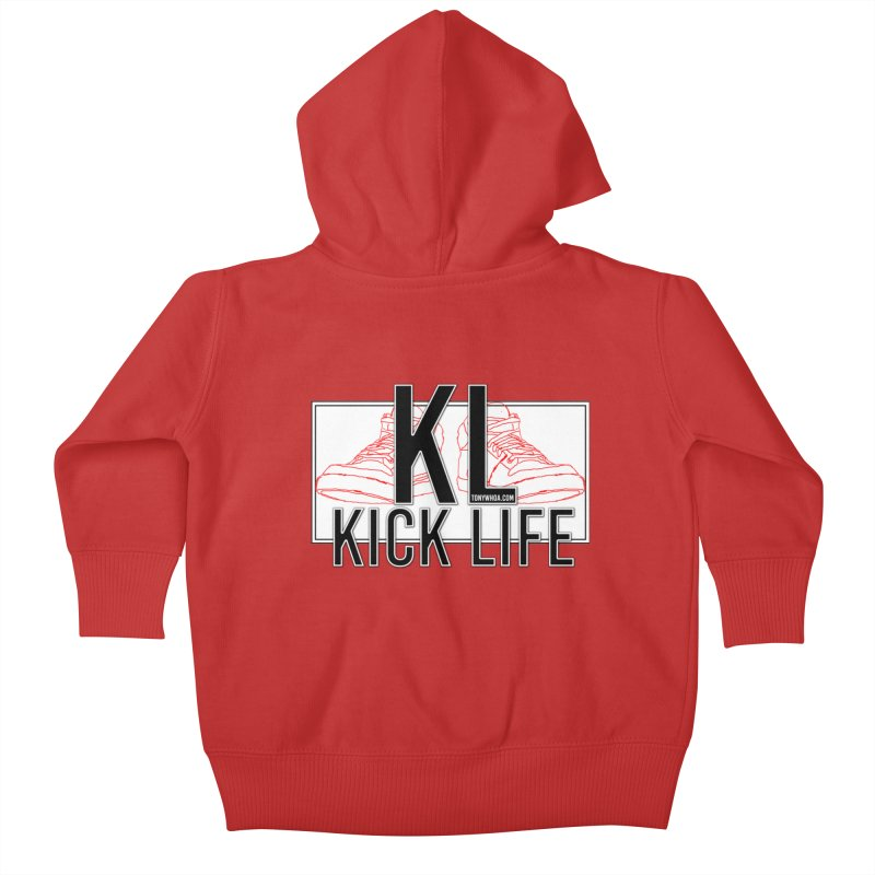 Kick Life Duces Kids Baby Zip-Up Hoody by TonyWHOA! Artist Shop