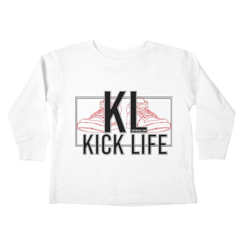 Kick Life Duces Kids Toddler Longsleeve T-Shirt by TonyWHOA! Artist Shop