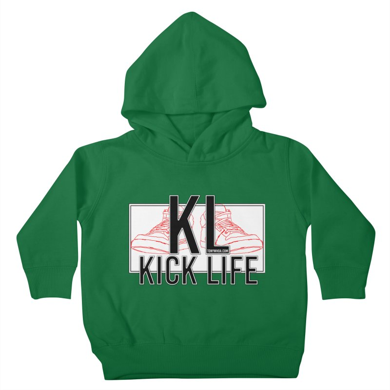 Kick Life Duces Kids Toddler Pullover Hoody by TonyWHOA! Artist Shop