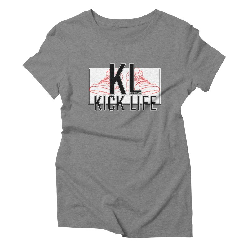 Kick Life Duces Women's Triblend T-shirt by TonyWHOA! Artist Shop