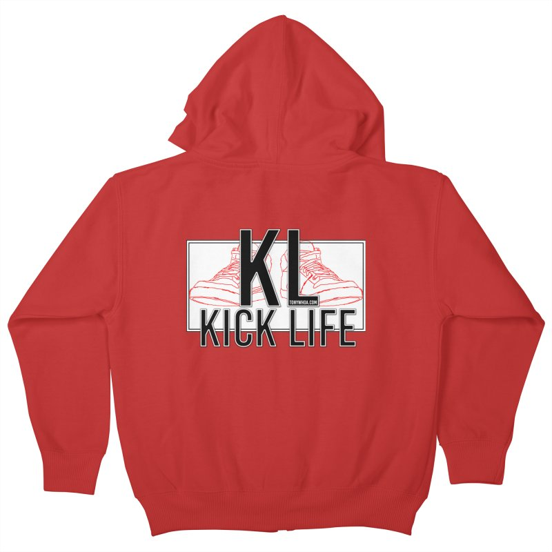 Kick Life Duces Kids Zip-Up Hoody by TonyWHOA! Artist Shop