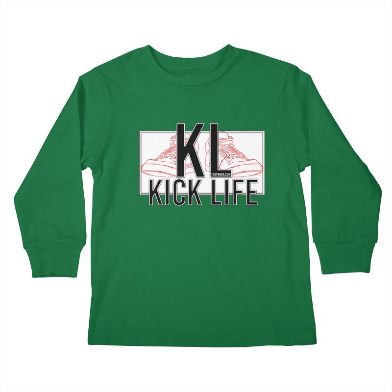 Kick Life Duces Kids Longsleeve T-Shirt by TonyWHOA! Artist Shop