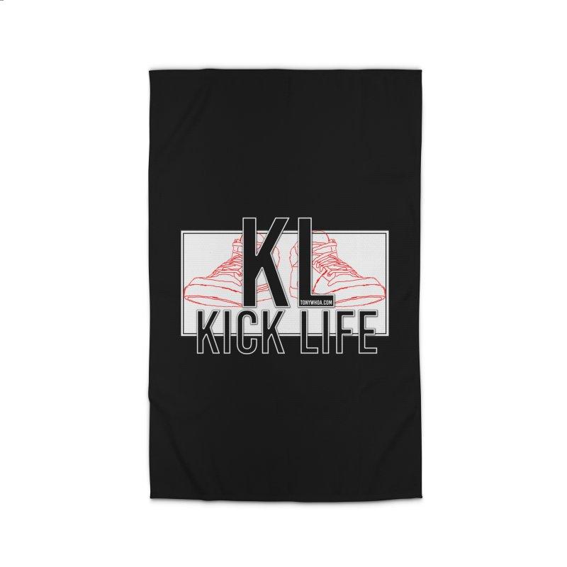 Kick Life Duces Home Rug by TonyWHOA! Artist Shop