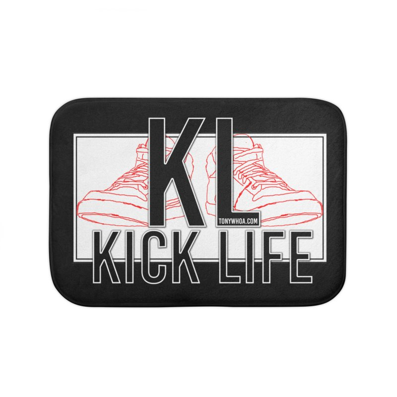 Kick Life Duces Home Bath Mat by TonyWHOA! Artist Shop
