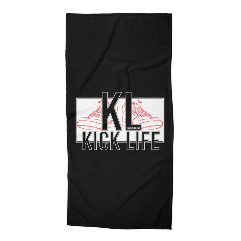 Kick Life Duces Accessories Beach Towel by TonyWHOA! Artist Shop