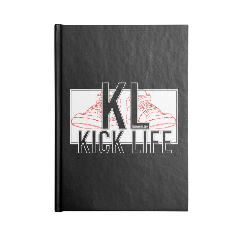 Kick Life Duces Accessories Notebook by TonyWHOA! Artist Shop