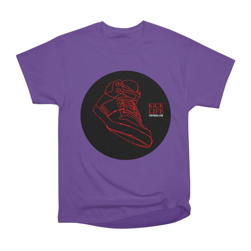 Kick Life Tres Men's Heavyweight T-Shirt by TonyWHOA!