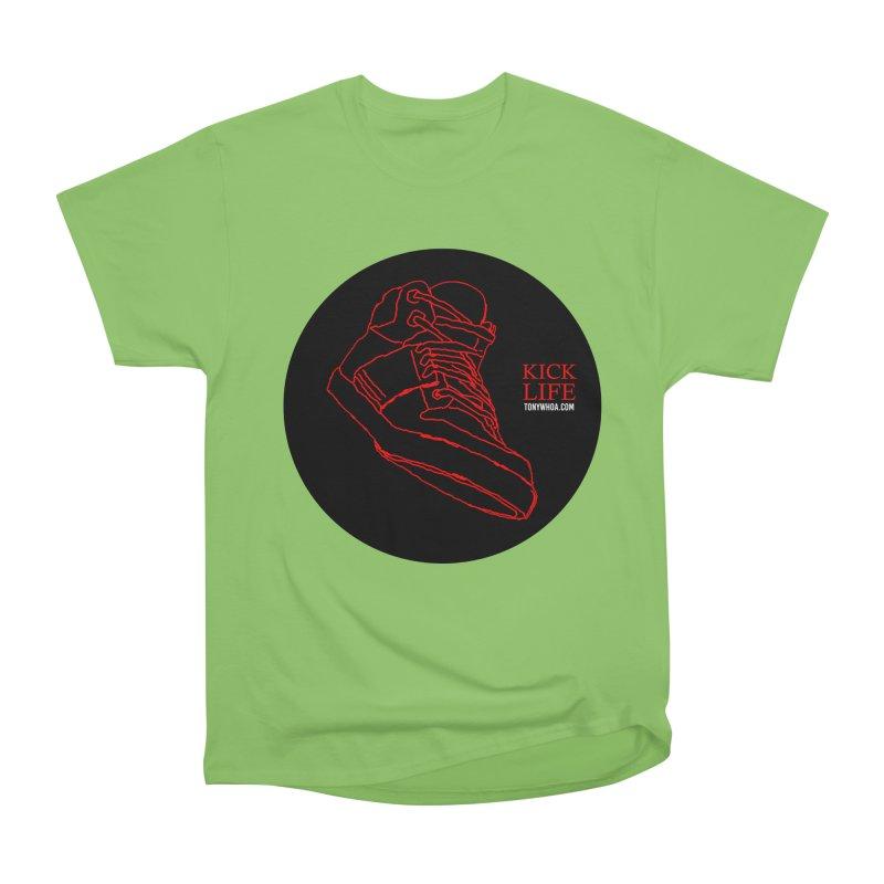 Kick Life Tres Men's Heavyweight T-Shirt by TonyWHOA! Artist Shop