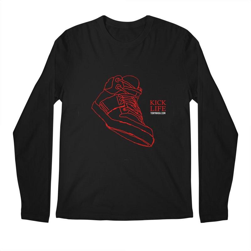 Kick Life Tres Men's Regular Longsleeve T-Shirt by TonyWHOA!