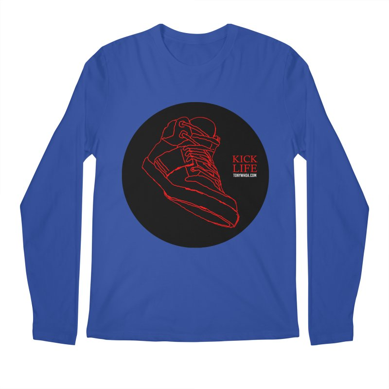 Kick Life Tres Men's Regular Longsleeve T-Shirt by TonyWHOA!