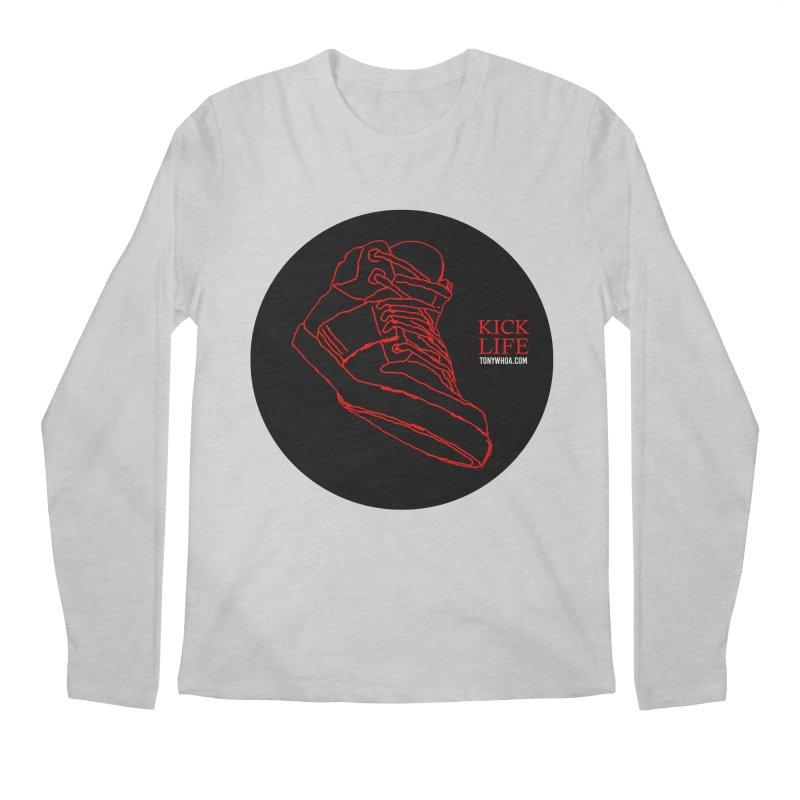 Kick Life Tres Men's Longsleeve T-Shirt by TonyWHOA! Artist Shop