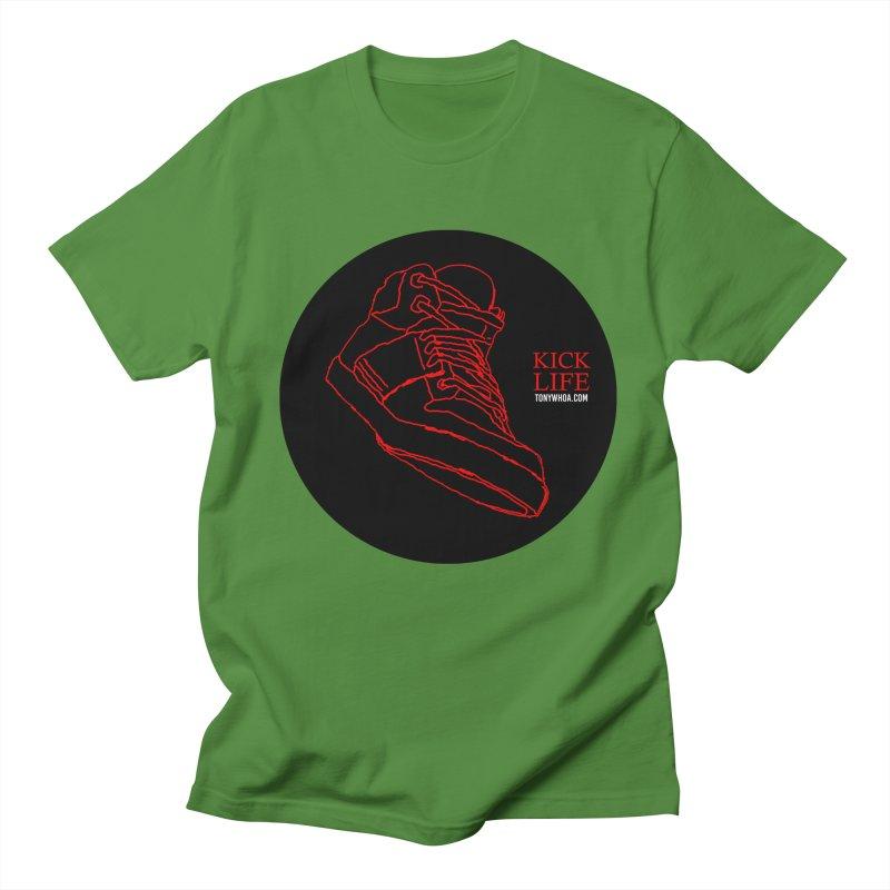 Kick Life Tres Men's Regular T-Shirt by TonyWHOA! Artist Shop