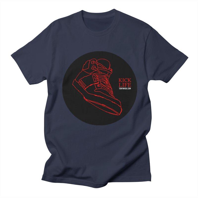 Kick Life Tres Men's T-Shirt by TonyWHOA! Artist Shop