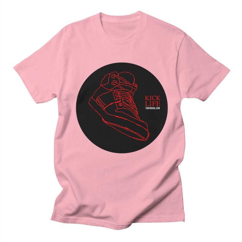 Kick Life Tres Men's Regular T-Shirt by TonyWHOA!