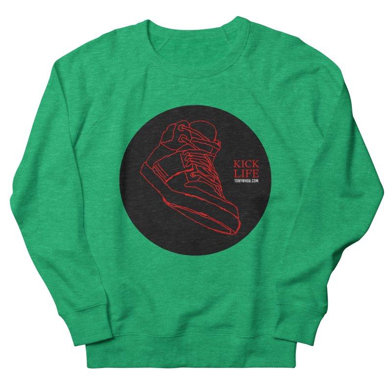 Kick Life Tres Women's French Terry Sweatshirt by TonyWHOA!