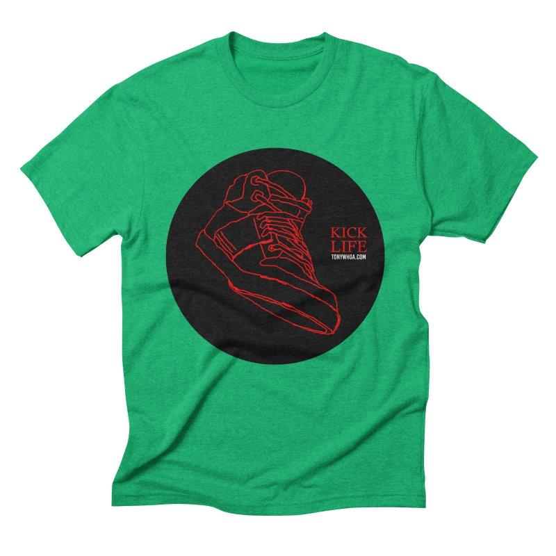 Kick Life Tres Men's Triblend T-Shirt by TonyWHOA!